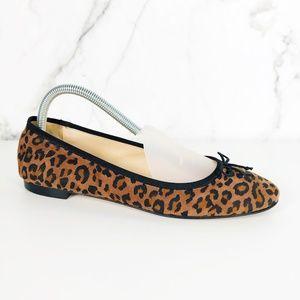 L.K. Bennett Leopard Print Flats